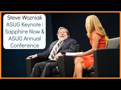 Steve Wozniak ASUG Keynote | Sapphire Now & ASUG Annual Conference