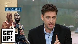 Mike Greenberg has some thoughts on the LeBron James-Michael Jordan debate | Get Up! | ESPN