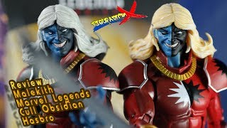 Review Malekith Avengers Marvel Legends Cull Obsidian BAF Hasbro Action Figure Revision Español