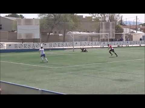 (RESUMEN y GOLES) SD Borja 3-1 CF Illueca / J 4 / 3ª División Fase Play Off