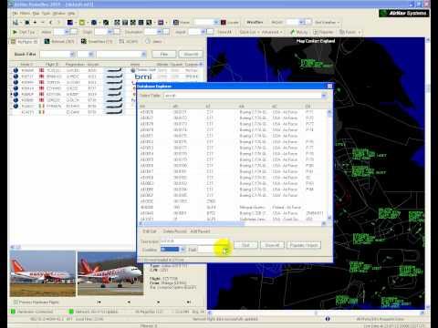 Using RadarBox Database Explorer