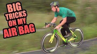 BIG TRICKS ON MY AIR BAG - 4 DIFFERENT BIKES!