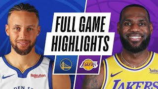 WARRIORS at LAKERS   FULL GAME HIGHLIGHTS   January 18, 2021