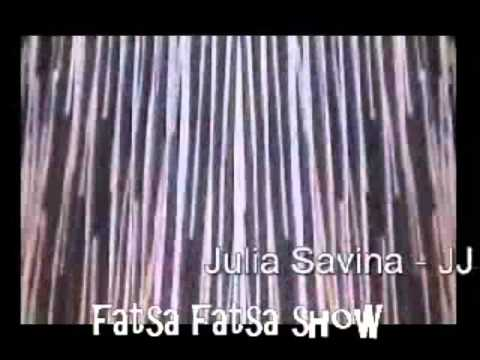 Julia Savina on Fatsa Fatsa Show hosted By Kim Nicolaou - JJ MCN