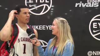 2019 Five-Star Cole Anthony Interview from Session II of Nike EYBL