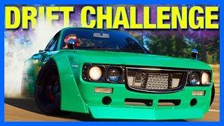 Forza Horizon 4 Online : 1 LAP DRIFT CHALLENGE!!