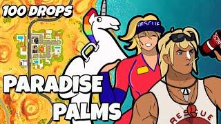 100 Drops - [Paradise Palms]