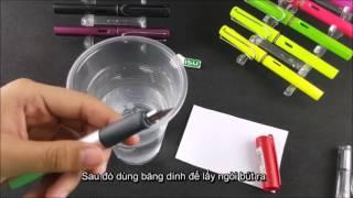 Cách vệ sinh bút mực Lamy