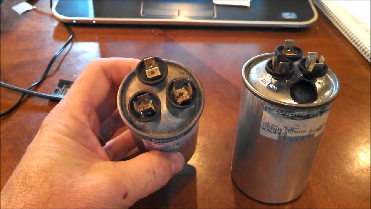 Bad Air Conditioner Capacitor