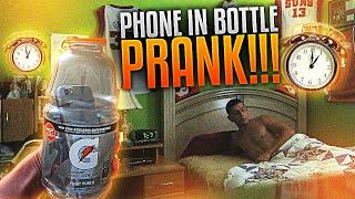 PHONE IN BOTTLE ALARM PRANK!!   FaZe Rug