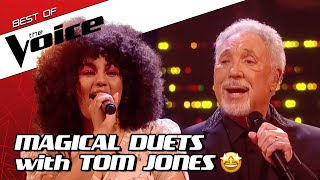 TOP 10 | Tom Jones SING-ALONGS in The Voice