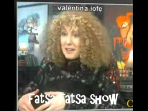 Valentina Iofe Interview on Fatsa Fatsa Tv Show hosted by Kim Nicolaou Part 1