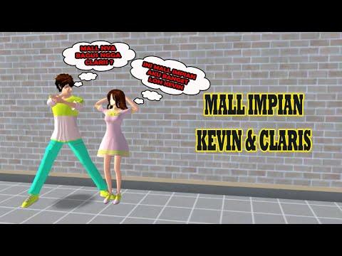 Melihat Mall Sakura milik Kevin dan Claris | Sakura School Simulator