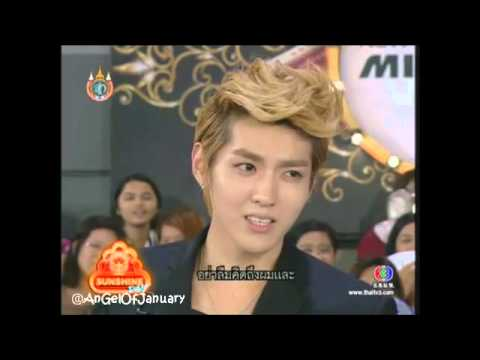 120812 EXO-M - Kris Speak Thai