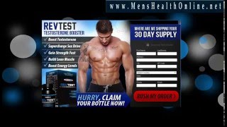 RevTest Review - RevTest Testosterone Booster Works! Must Watch!