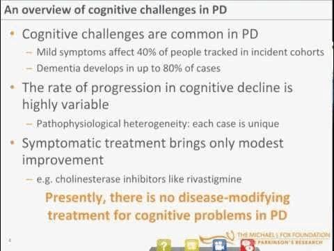 Cognitive Impairment and Parkinson's Disease [Webinar]