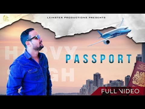 PASSPORT LYRICS - Harvy Singh