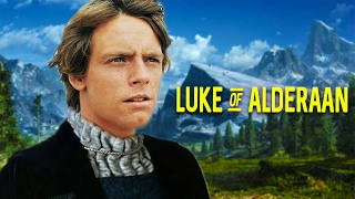 What if Luke Skywalker and Leia Switched Places at Birth?