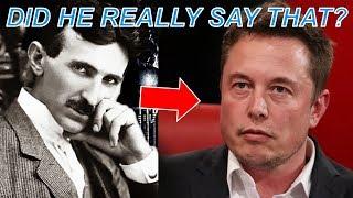 Elon Musk on Nikola Tesla – What He Said May Shock You...