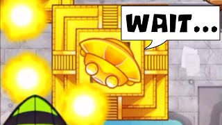So I used the TEMPLE in an actual game and this happened... (Bloons TD Battles)