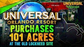 Universal buys 101 Acres of land in Orlando!! - Universal Studios News 11/01/2017
