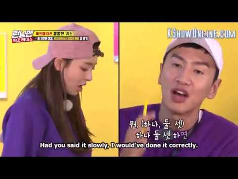 Running Man Ep 388 | Lee Kwangsoo & Lee Da hee Funny Chemistry