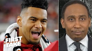'I'm rolling with the Tide!' – Stephen A. picks Alabama over LSU | First Take