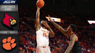 Louisville vs Clemson Condensed Game | ACC Basketball 2019-20
