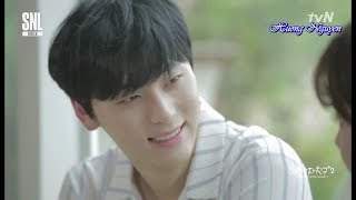 [Vietsub] Bạn trai 3 phút - Min Hyun WANNA ONE (Bạn trai thuần khiết) @170819 SNL