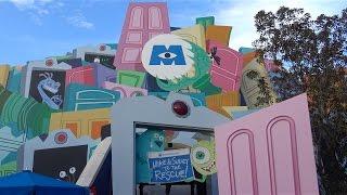 2017 Monsters Inc. DARK RIDE in 4K ULTRA HD, Disney California Adventure, Disneyland
