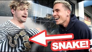 SURPRISING HIM WITH WORST FEAR!!