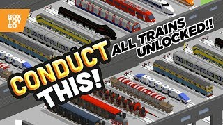 Jousting Train & The Grinch!?! All Trains Unlocked in CONDUCT THIS!