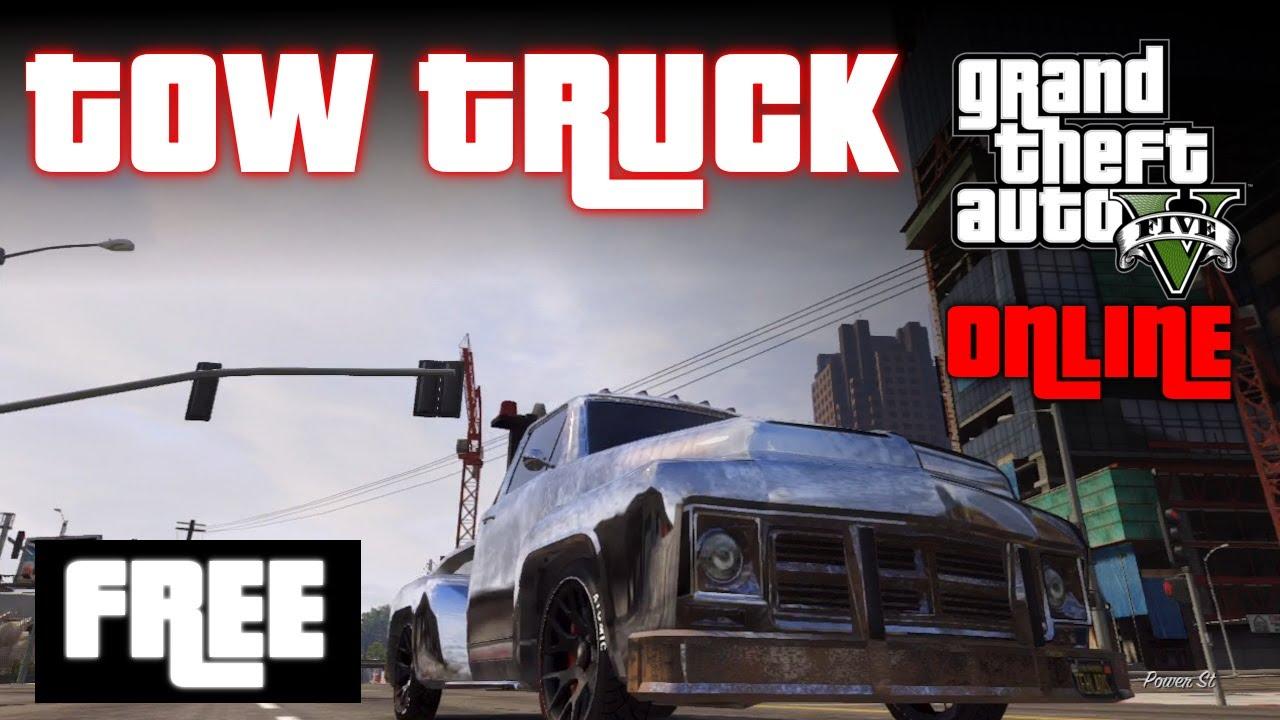Tow Truck: Gta Online Tow Truck