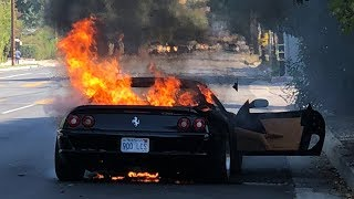 An Engine Fire Destroyed my Ferrari F355