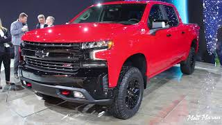2019 Chevrolet Silverado LT, Trail Boss and High Country Close-Up Look! 2018 NAIAS