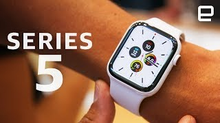 Apple Watch Series 5 First Look