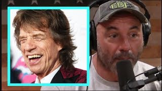 Joe Rogan Reacts to Mick Jagger's Workout Routine