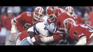 1980 WK 18 NFC Division Playoff Dallas Cowboys (13-4) @ Atlanta Falcons (12-4) Duel In Dixie