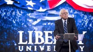 Bernie Sanders DESTROYS at Christian 'Liberty University'
