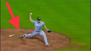 MLB | Pitcher illegal move