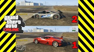 GTA 5 Grotti Visione vs Coil Cyclone - FASTEST GTA ONLINE SMUGGLER'S RUN DLC SUPER CAR!