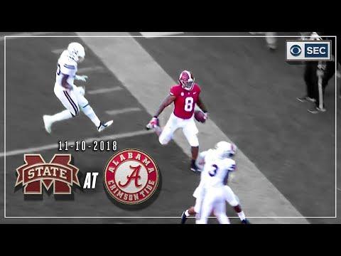Mississippi St. vs. Alabama: Tide Defense Pitches Shutout