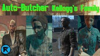 Fallout 4 | Auto-Butcher #7 | Kellogg's Family