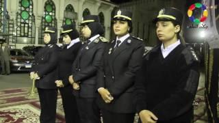 أمن الاسكندرية يتلقي العزاء في ضحايا الشرطة     -