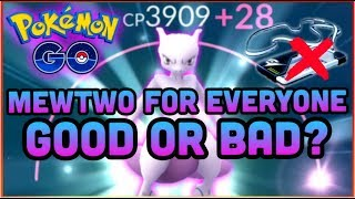 IS MEWTWO FOR EVERYONE REALLY A BAD THING IN POKEMON GO?   GEN 4 PREDICTING DATE    NEW EX RAID BOSS