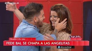 Andrea Taboada se puso celosa de Yanina Latorre y le pidió un beso a Fede Bal