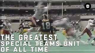 The Greatest Special Teams Unit of All Time | NFL Vault Stories