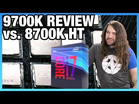 video Intel Core i7 9700k