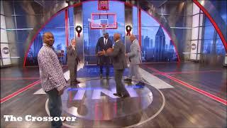Inside The NBA | Chuck Punches Shaq then Runs after | Hilarious