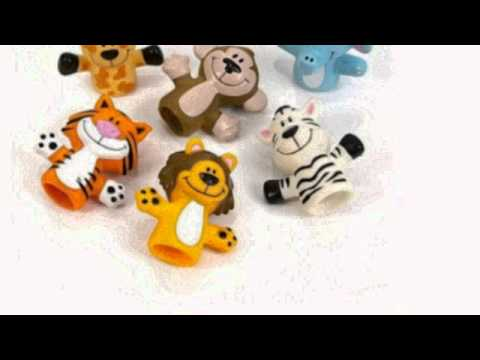 Baixar Zoo Animal Finger Puppets - 12 Per Order